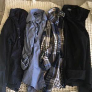 Men's button up long sleeve bundle